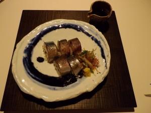 Aburi  Shimesaba  Sushi